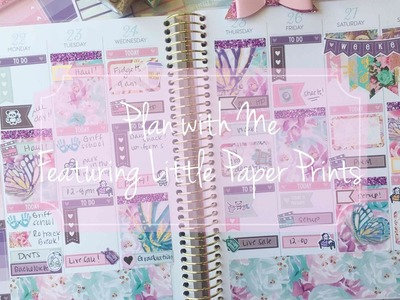 Plan with Me Featuring Little Paper Prints