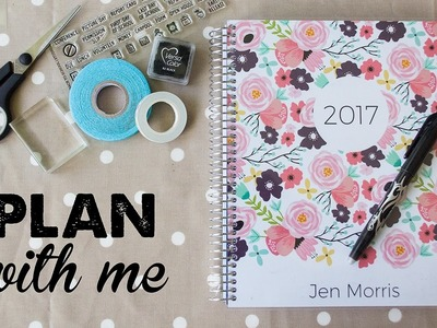 Plan With Me (Plum Paper planner) | A Thousand Words