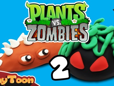 Plants Vs Zombies characters 2, Polymer clay tutorial