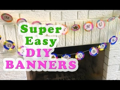 Super Easy DIY Banners! Ramadan & Eid Decor