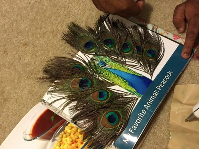 Touch and feel. Sensory book for kids DIY