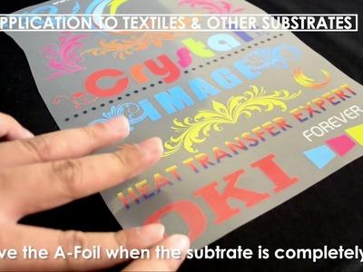 Tutorial Self Weeding Paper for t-shirt printing