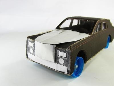 WOW! Amazing Rolls-Royce Luxury Car DIY At Home - 9v Battery Roll Royce Phantom