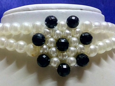 #30 How to make Pearl Beaded Choker || Diy || Jewellery Making