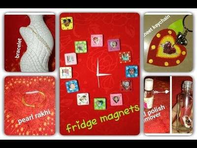 5 easy diy  crafts (fridge magnets & many more)for kids.adults????????. viewer's choise #2