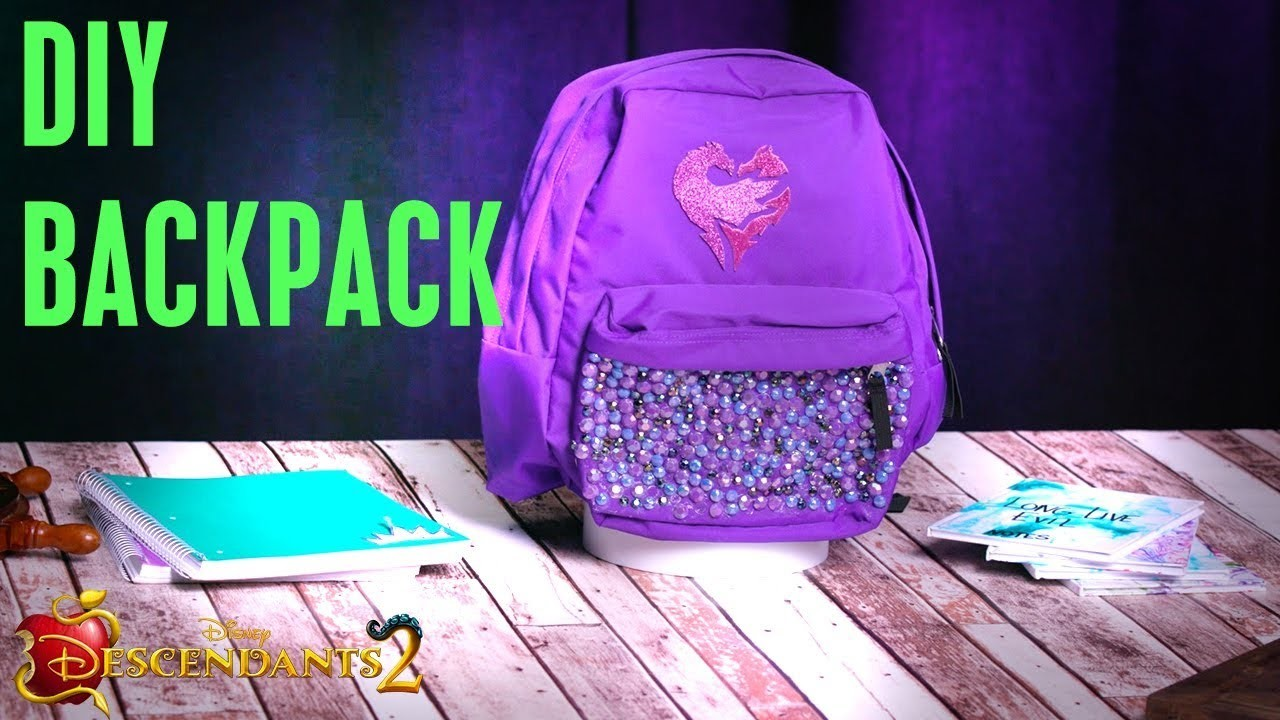 Backpack Tutorial ???? | DIY | Descendants 2