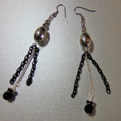 Black/Silver Chandeliers