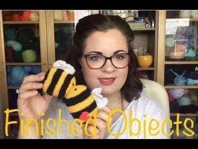 Crochet Recently Finished Objects   Crochet Podcast 3