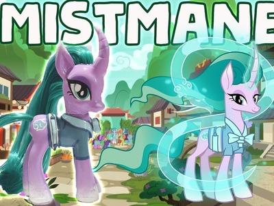 Custom MISTMANE PONY Tutorial DIY My Little Pony - Campfire Tales