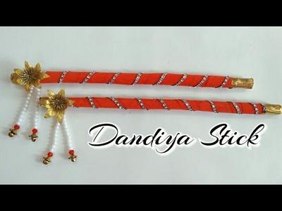 DIY Dandiya Stick. Dandiya Stick Decoration. How to make Dandiya Stick at home for Navratri.Garba