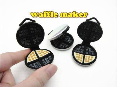DIY Doll Accessories Mini Waffle Maker - Easy