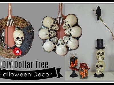 DIY DOLLAR TREE HALLOWEEN DECOR | Home Decor & Wreaths