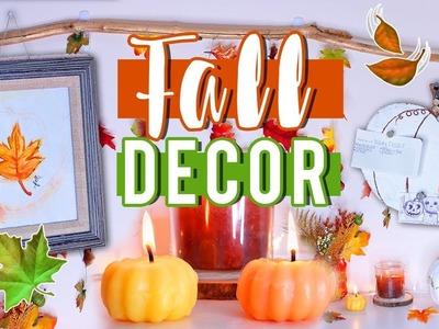 DIY Fall Decor for 2017!