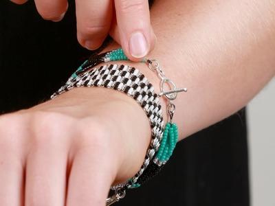 DIY How to Jewellery - Seed Bead Bracelet Tutorial