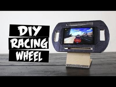 DIY How to Make Racing Steering Wheel