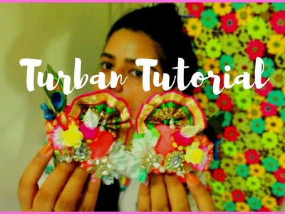 DIY | How to make Turban for Krishna | Easy Turban Tutorial # 2017 for Gaur-Nitai or KRISHNA