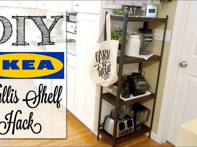 DIY Industrial Farmhouse Shelf   IKEA HACK