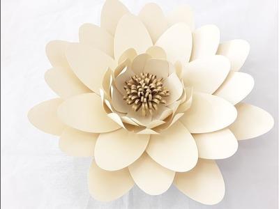 DIY Large Paper Daisy Tutorial