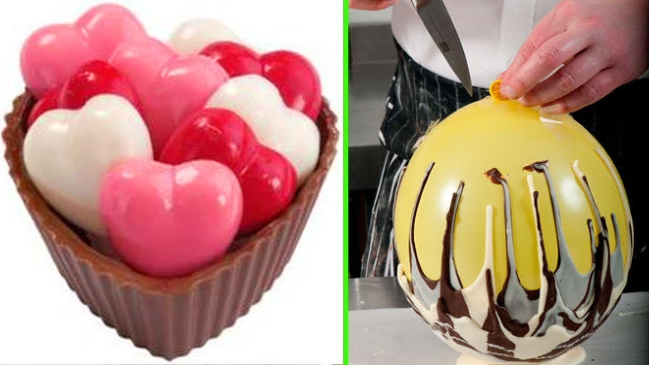 Diy Make Chocolate Balloon Bowls Cakes Tutorial Amazing