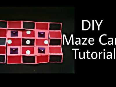 DIY Maze Card Tutorial | Handmade Card Idea