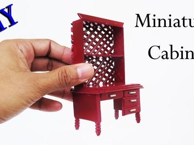 DIY Miniature Cabinet Furniture   crafts ideas