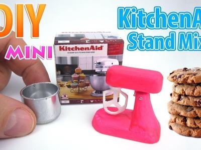 DIY Miniature KitchenAid Stand Mixer | DollHouse | No Polymer Clay!