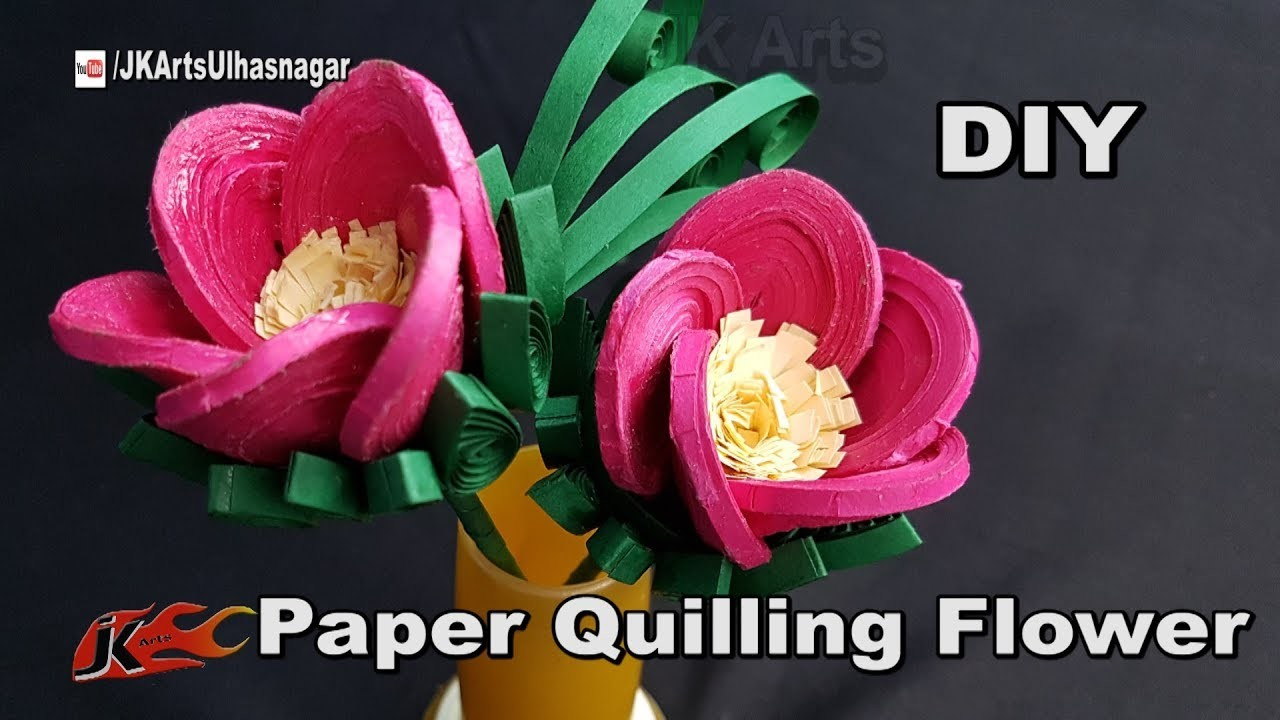 Quilling new slotted quilling tool demo diy crafts how for How to make your own quilling paper