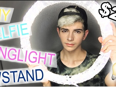 DIY Ring Light Tutorial | Under $20 W.STAND [Side By Side Comparison]