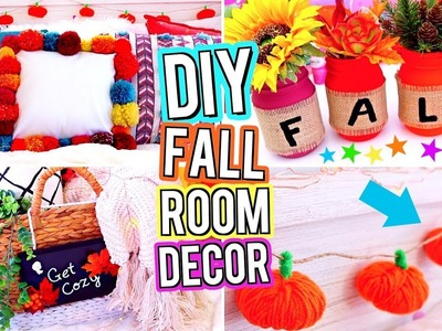 DIY ROOM DECOR 2017! DIY Fall Room Decor! DIY Room Decorations!  Easy & Cute DIY's For Your Room!