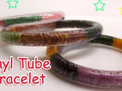 DIY Vinyl Tube Bracelet  - Ana | DIY Crafts