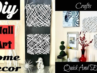 DIY Wall Art Home Decor At No Cost!!!!