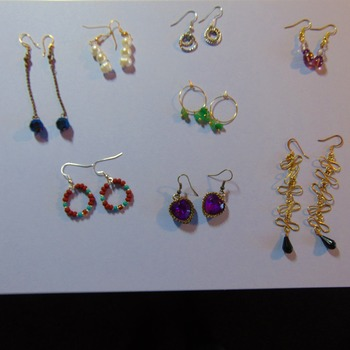 Earrings on Clearance, any 2 for $4