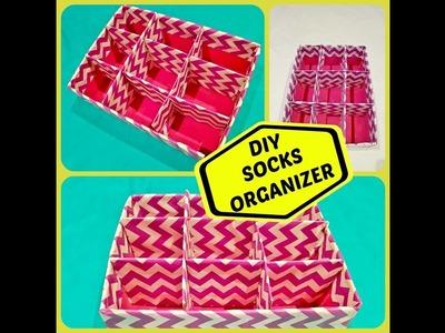 Easy DIY Socks.Stockings Organizer