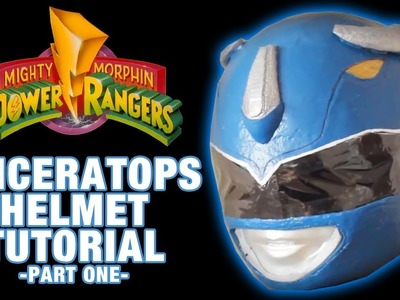 . einen MM Power Rangers Helm DIY. Tutorial Part 1