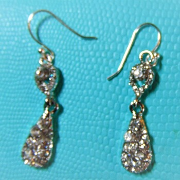 Holiday Ready Faux Diamond Drops