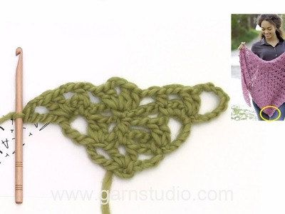 How to crochet A.1 in DROPS 179-17