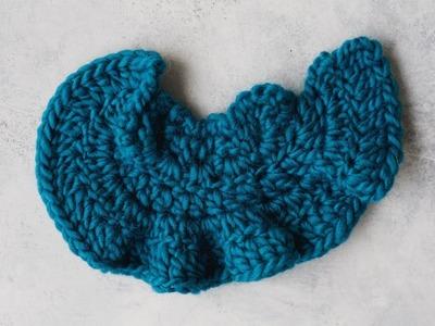 How to Crochet a Ruffled Edge