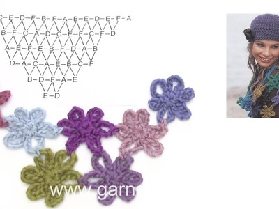 How to crochet the shawl in DROPS 86-13
