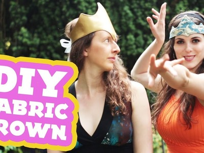 How to Make a DIY Fabric Crown for Kids & Adults | DAMSELS IN DIY