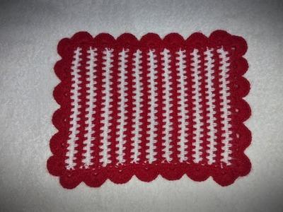 How to make crochet Blanket. Bed sheet for Ladoo Gopal. Kanha Ji #1