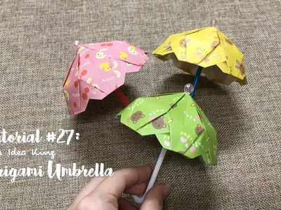 How to Make DIY Origami Umbrella? | The Idea King Tutorial #27