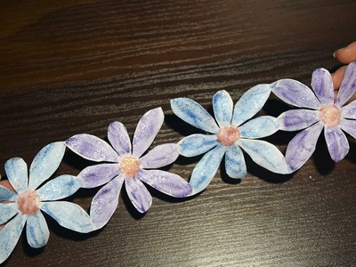 How to make flower garland for wedding DIY