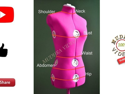 How to take body measurements for women # body measurements # DIY # part 86