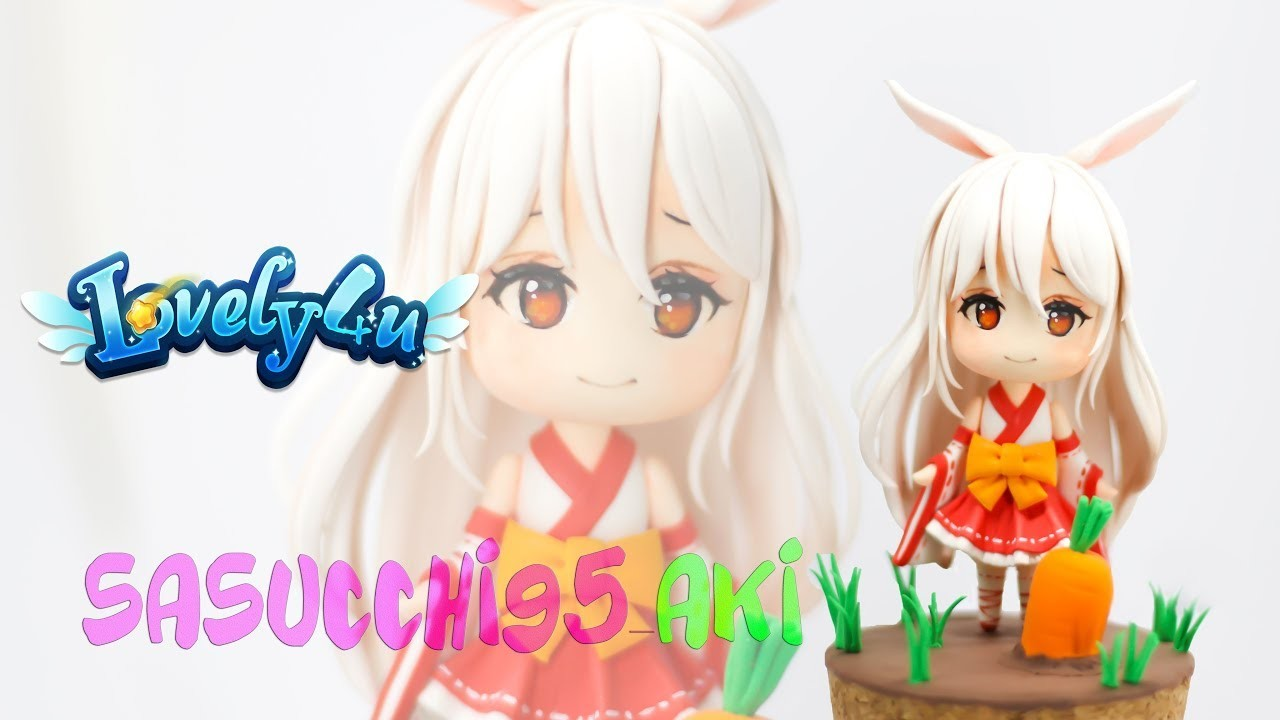 Lovely4u | VO28 | Sasucchi95's OC young AKI | DIY| Clay Figure Tutorial