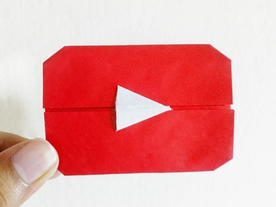 Origami Youtube Play Button – DIY Paper Youtube Play Button Easy Tutorial NEW