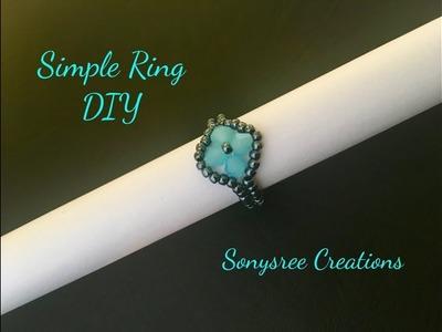 Simple DIY Ring ???? _ Day 3 of 5 Day Marathon of ring ????