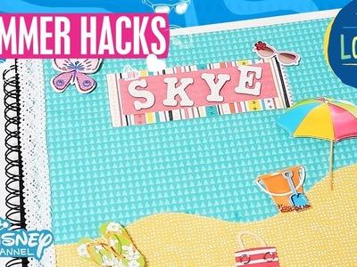 Summer Hacks | The Lodge: DIY Scrapbook Tutorial | Official Disney Channel UK