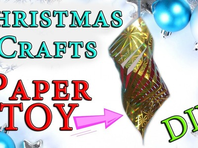 SUPER Easy Christmas Crafts| Kirigami Ornament Decoration. DIY Tutorial For Children
