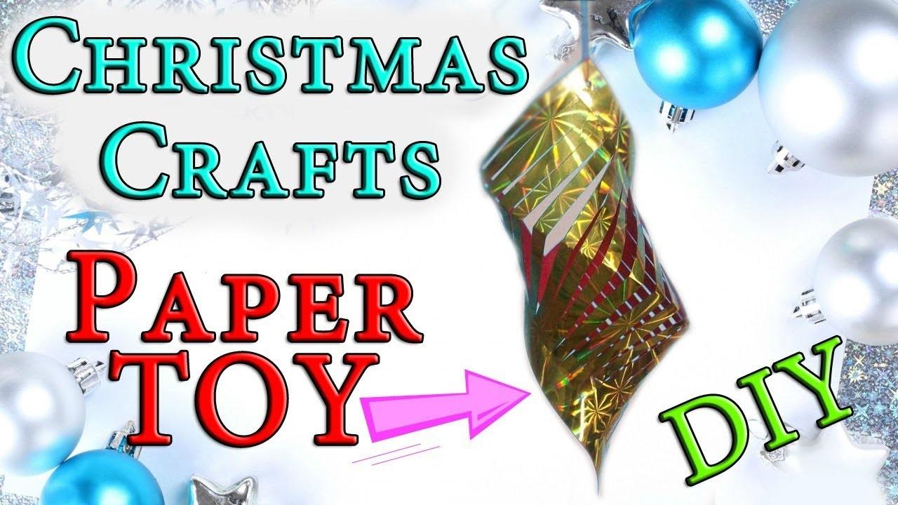 SUPER Easy Christmas Crafts| Kirigami Ornament Decoration. DIY Tutorial For Children