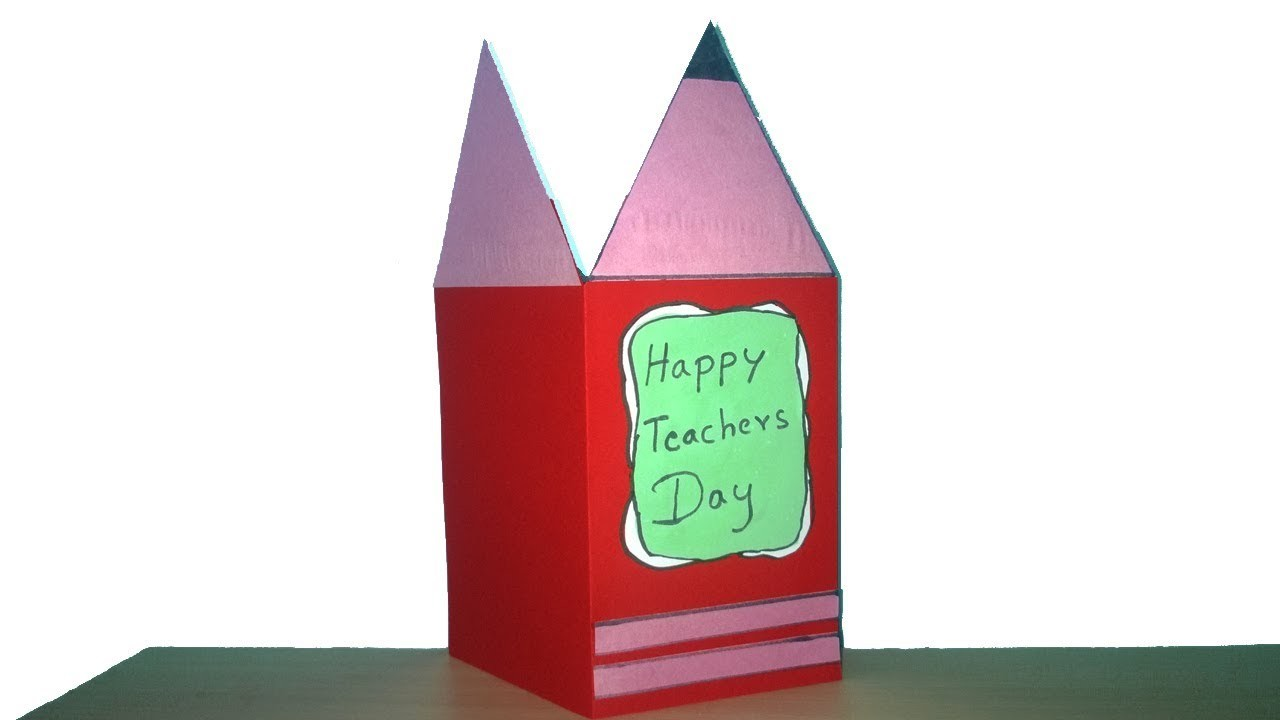 Teachers day card making idea teachers day card diy easy teachers teachers day card making idea teachers day card diy easy teachers day greeting card m4hsunfo